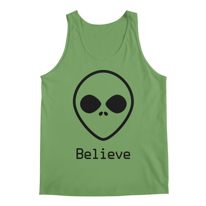Believe Men's Tank by iconnico