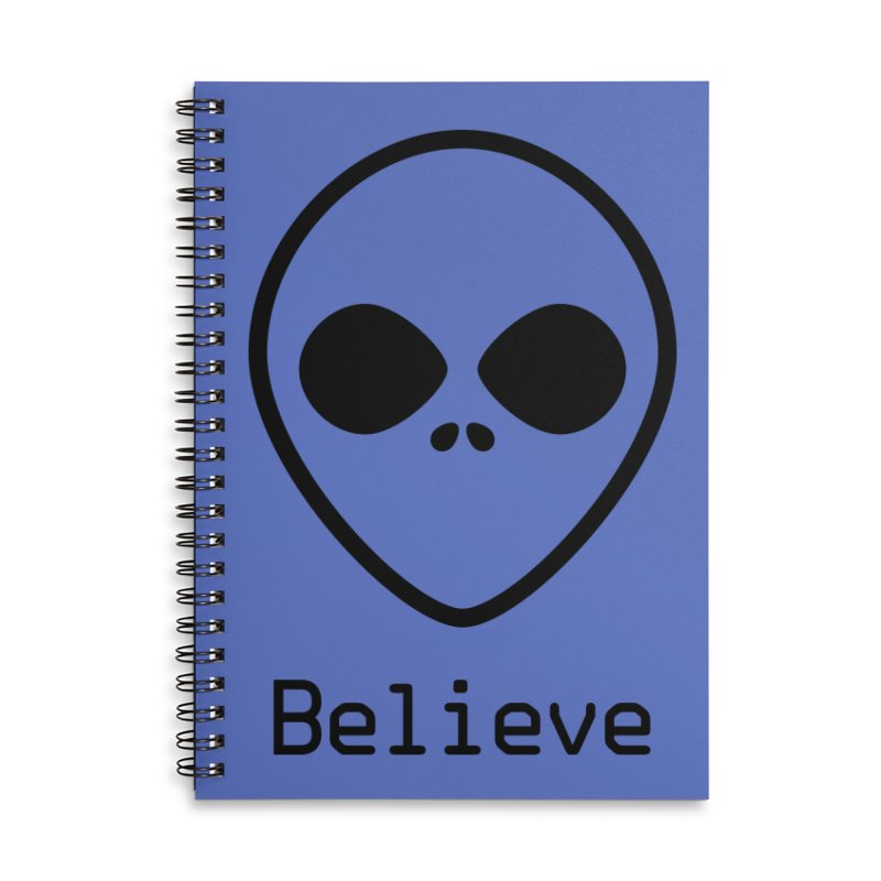 Believe Accessories Notebook by iconnico