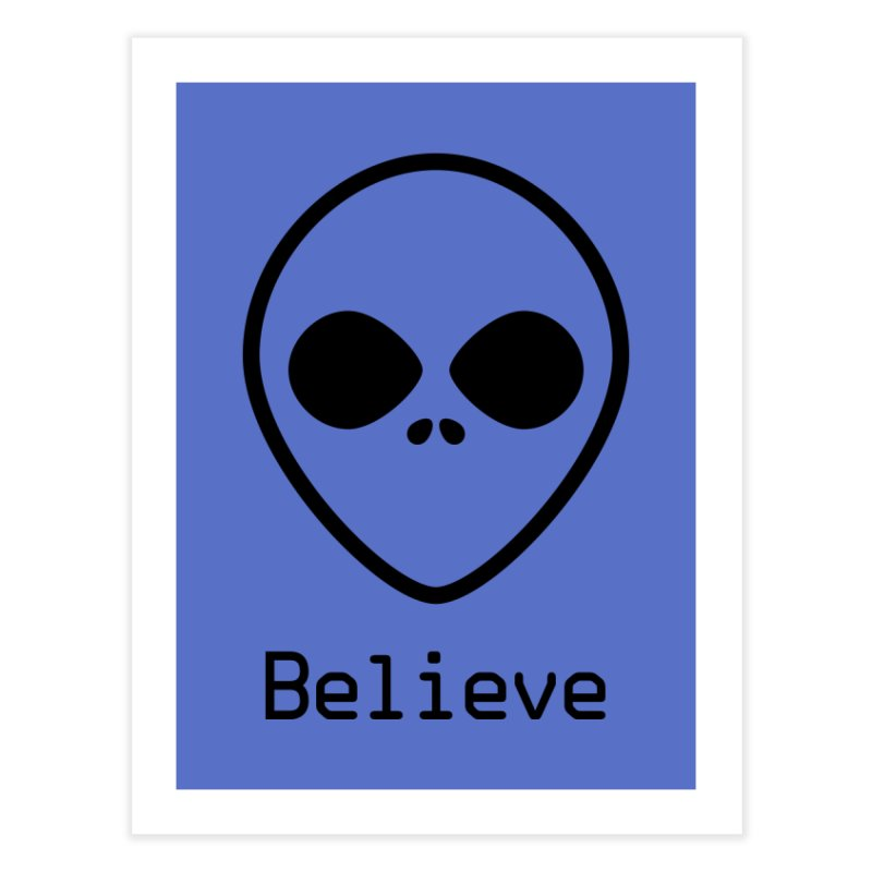 Believe Home Fine Art Print by iconnico