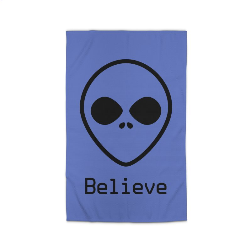 Believe Home Rug by iconnico
