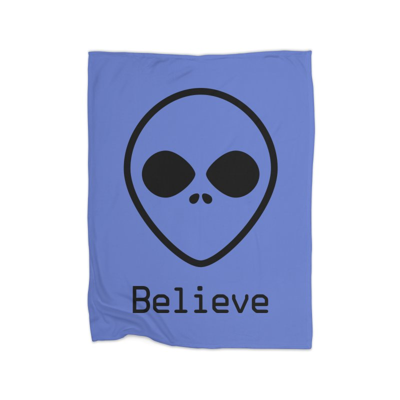 Believe Home Blanket by iconnico