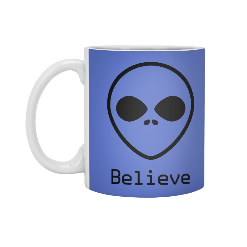 Believe Accessories Standard Mug by iconnico