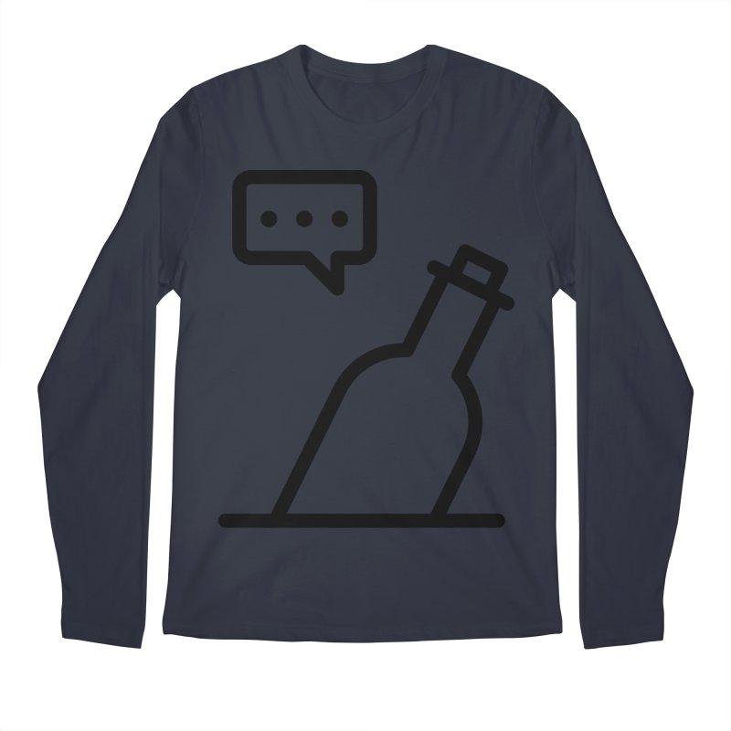 S.O.S Men's Regular Longsleeve T-Shirt by iconnico