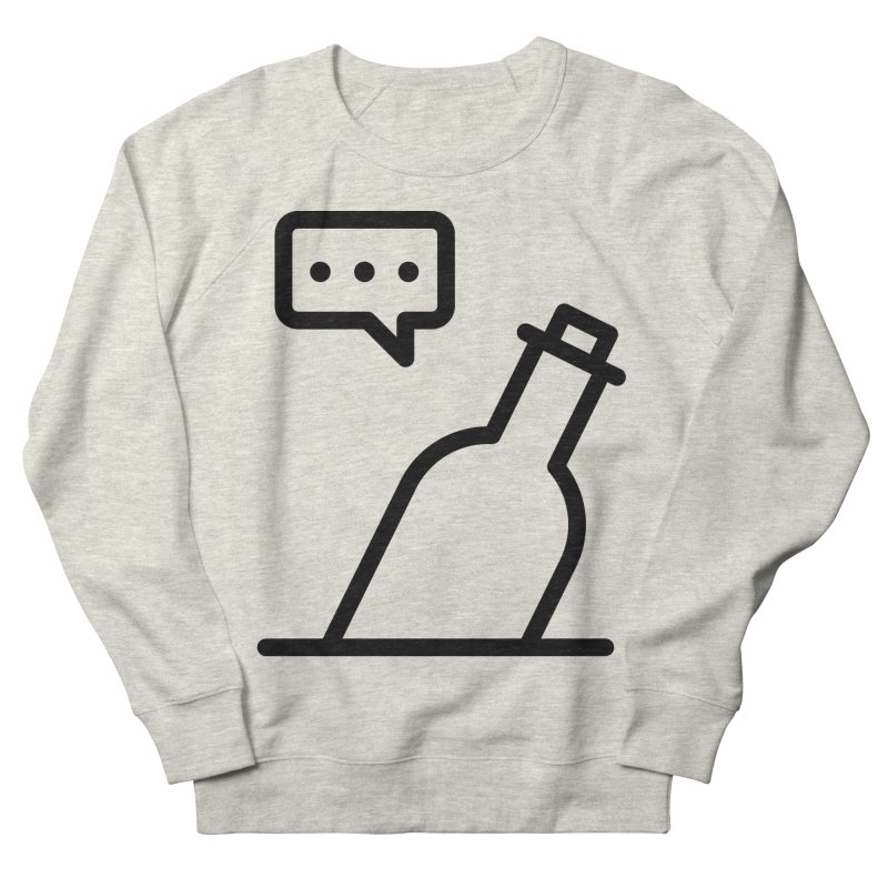 S.O.S Men's French Terry Sweatshirt by iconnico