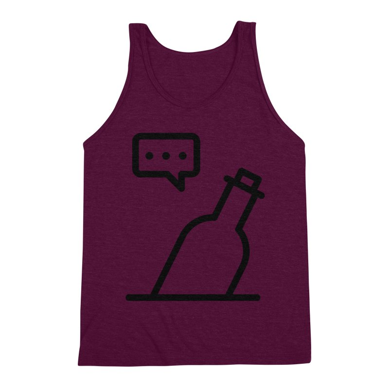 S.O.S Men's Triblend Tank by iconnico
