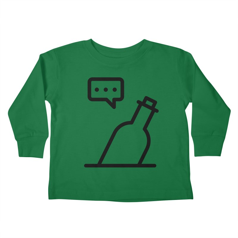 S.O.S Kids Toddler Longsleeve T-Shirt by iconnico