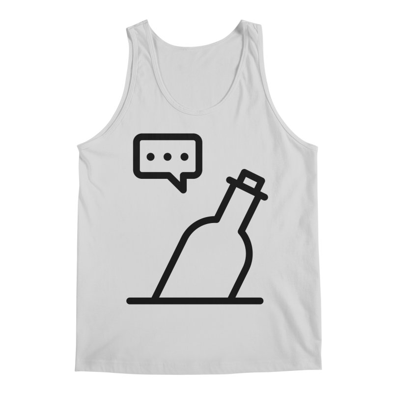 S.O.S Men's Regular Tank by iconnico