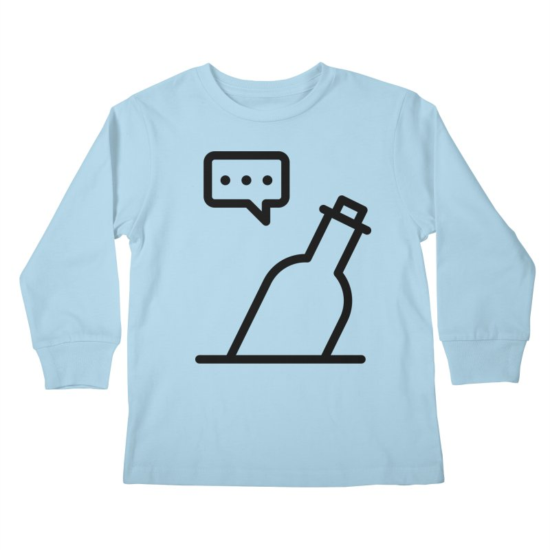 S.O.S Kids Longsleeve T-Shirt by iconnico