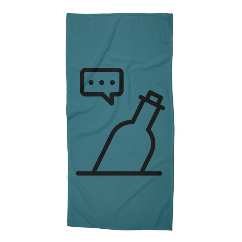 S.O.S Accessories Beach Towel by iconnico