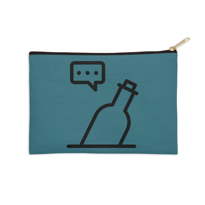 S.O.S Accessories Zip Pouch by iconnico