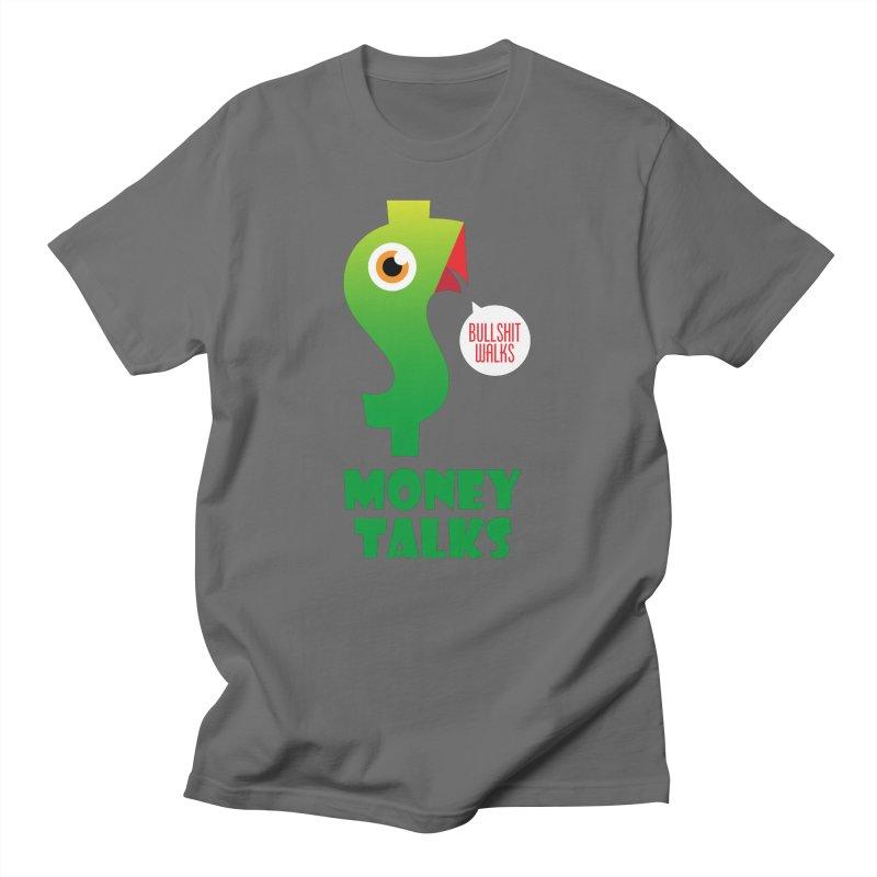 Money Talks Men's T-Shirt by iconnico