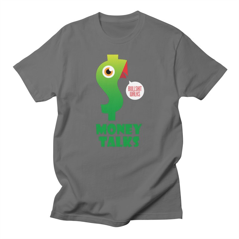Money Talks Women's T-Shirt by iconnico