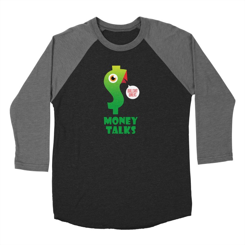 Money Talks Women's Longsleeve T-Shirt by iconnico