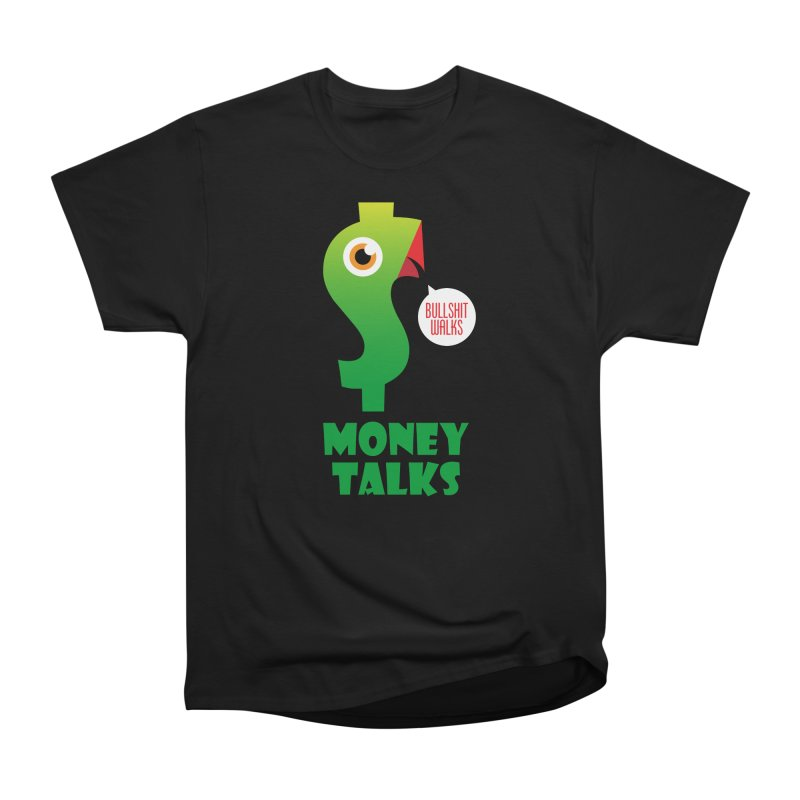 Money Talks Men's Heavyweight T-Shirt by iconnico