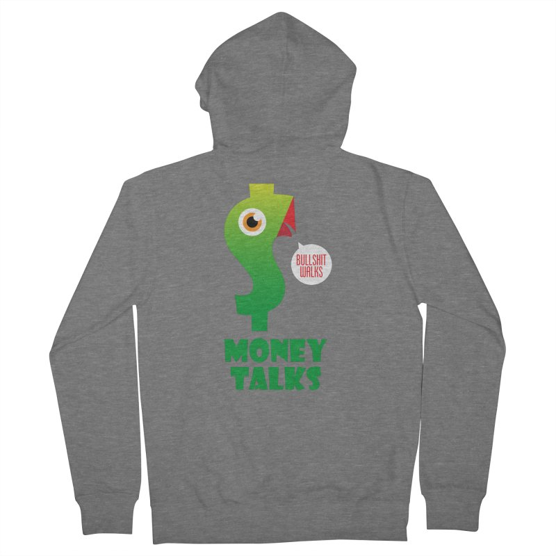 Money Talks Women's Zip-Up Hoody by iconnico