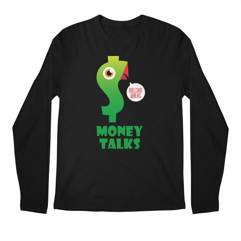 Money Talks Men's Regular Longsleeve T-Shirt by iconnico