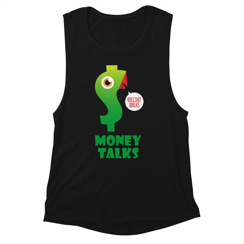 Money Talks Women's Tank by iconnico