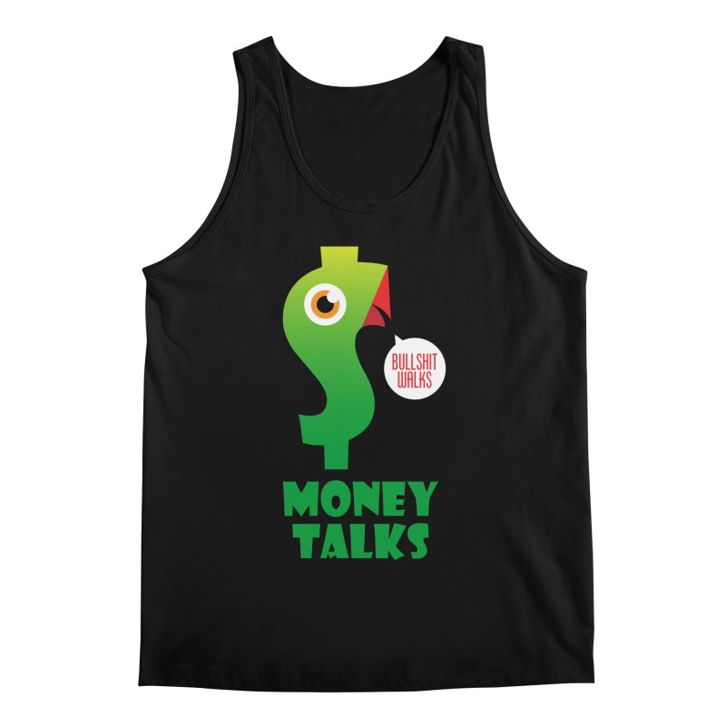 Money Talks Men's Tank by iconnico