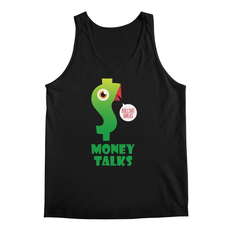 Money Talks Men's Regular Tank by iconnico
