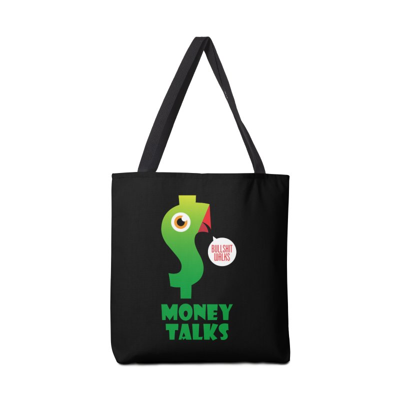 Money Talks Accessories Tote Bag Bag by iconnico