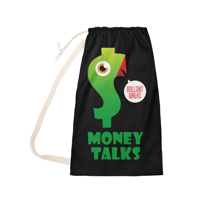 Money Talks Accessories Laundry Bag Bag by iconnico