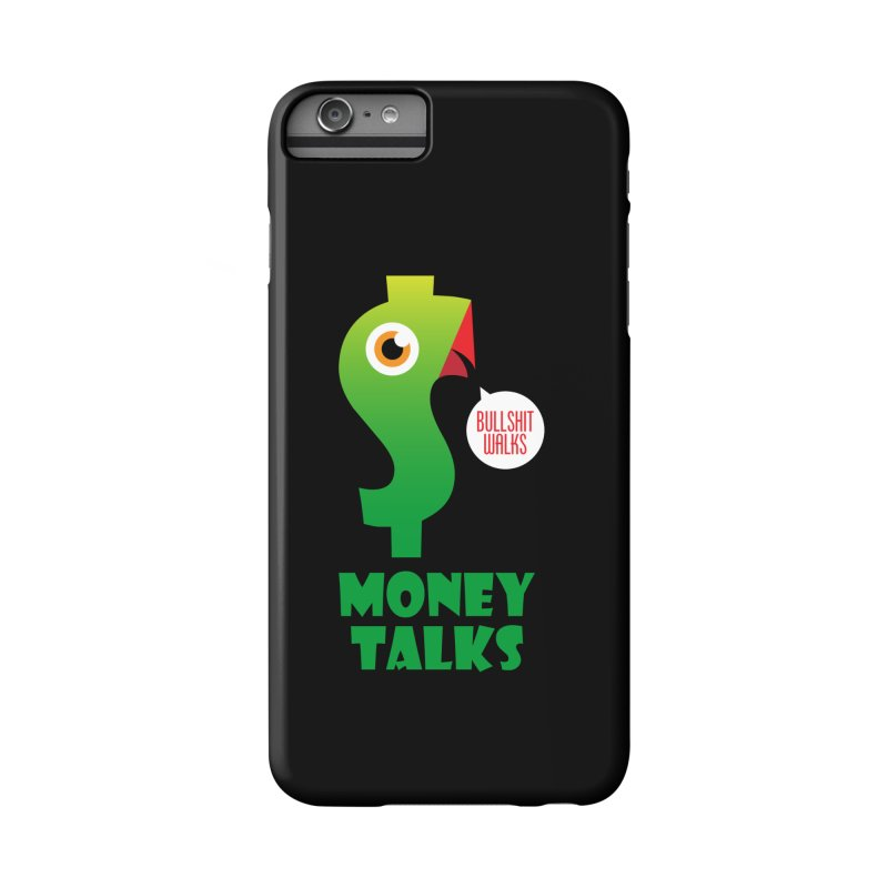 Money Talks Accessories Phone Case by iconnico