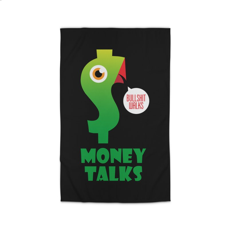 Money Talks Home Rug by iconnico