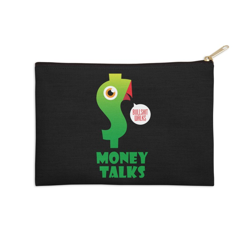 Money Talks Accessories Zip Pouch by iconnico