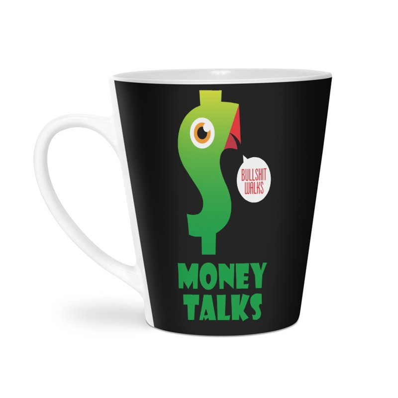 Money Talks Accessories Latte Mug by iconnico
