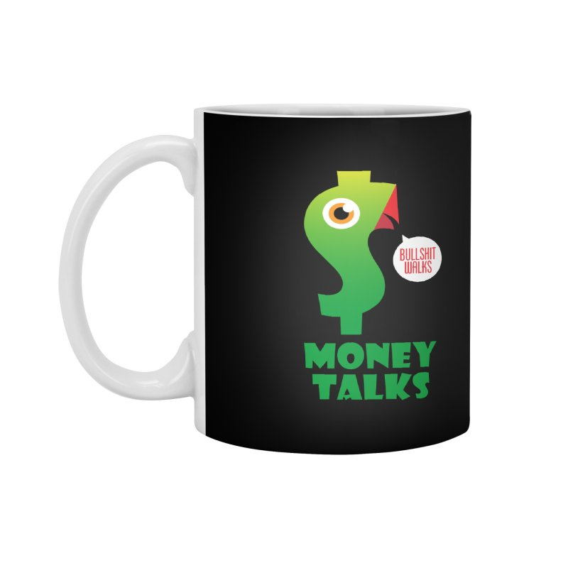 Money Talks Accessories Mug by iconnico