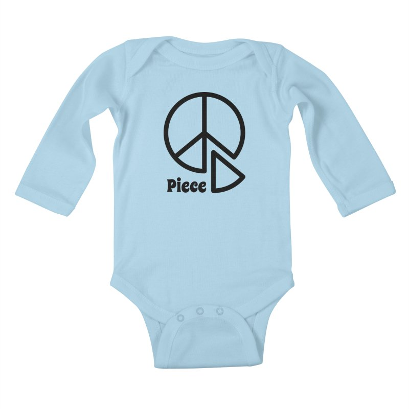 Piece Kids Baby Longsleeve Bodysuit by iconnico