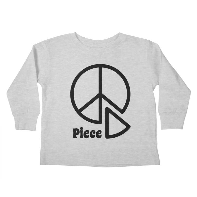 Piece Kids Toddler Longsleeve T-Shirt by iconnico