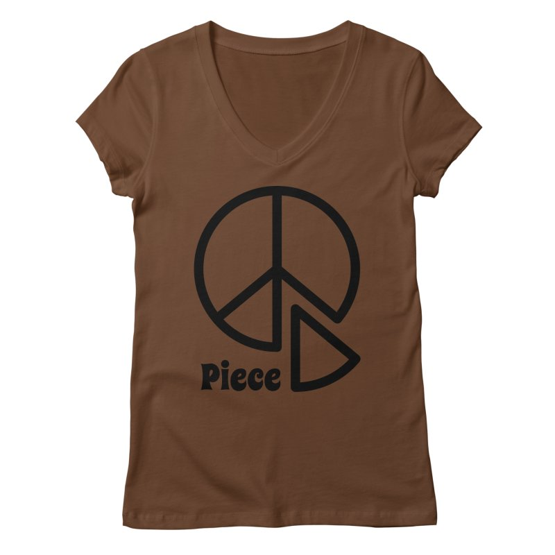 Piece Women's Regular V-Neck by iconnico