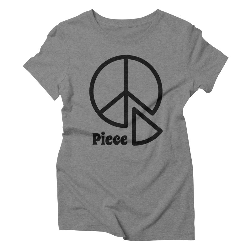 Piece Women's Triblend T-Shirt by iconnico