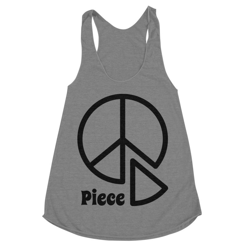 Piece Women's Racerback Triblend Tank by iconnico