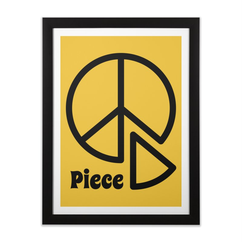 Piece Home Framed Fine Art Print by iconnico