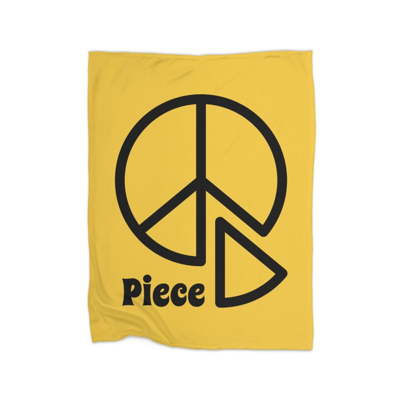 Piece Home Fleece Blanket Blanket by iconnico