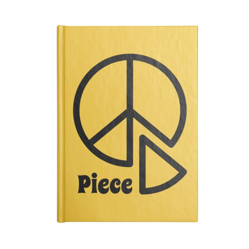 Piece Accessories Lined Journal Notebook by iconnico