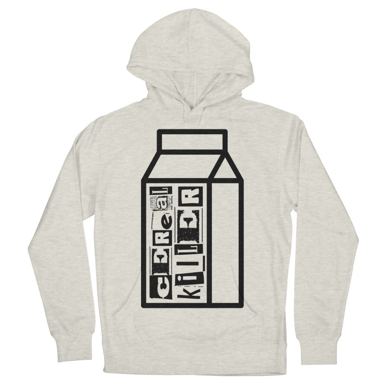 Cereal Killer Men's French Terry Pullover Hoody by iconnico