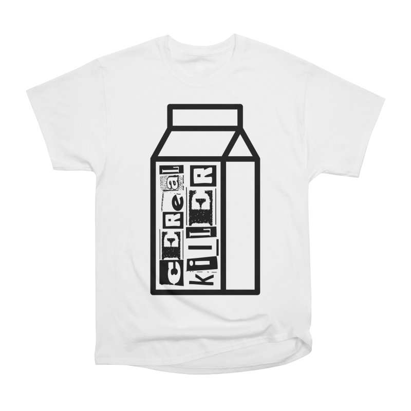Cereal Killer Men's Heavyweight T-Shirt by iconnico