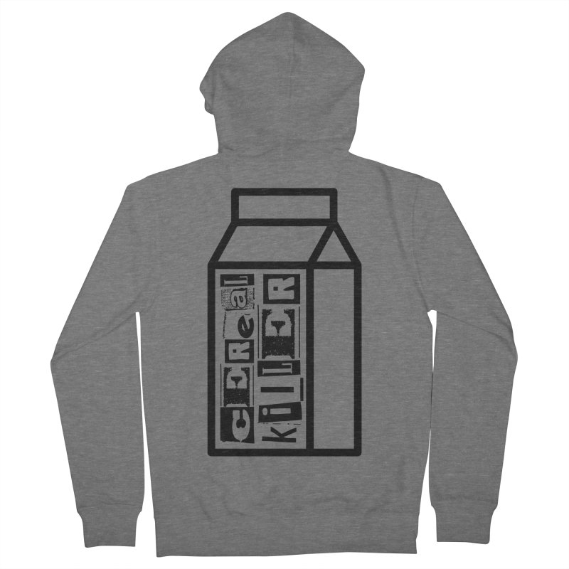 Cereal Killer Men's French Terry Zip-Up Hoody by iconnico