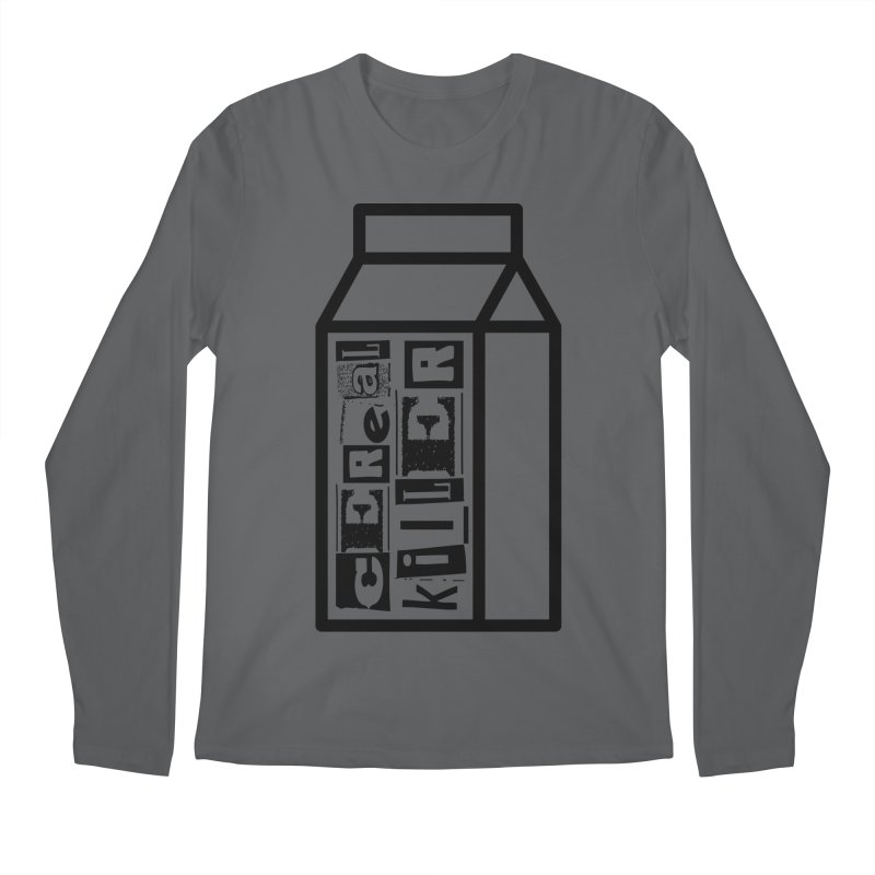 Cereal Killer Men's Longsleeve T-Shirt by iconnico
