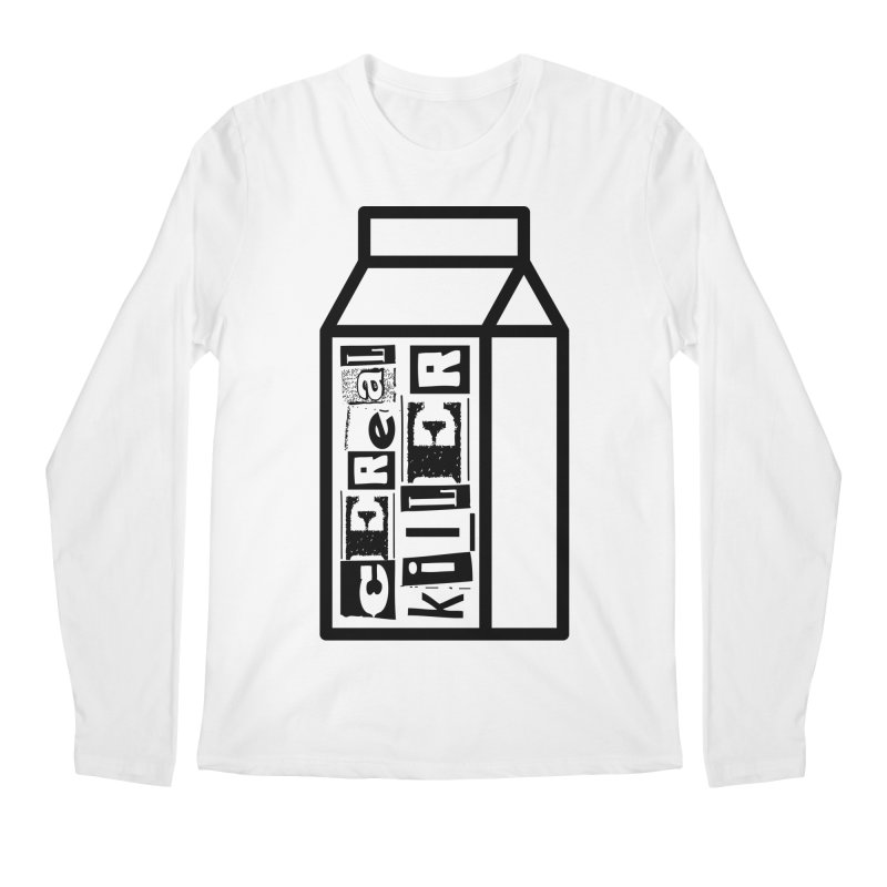 Cereal Killer Men's Regular Longsleeve T-Shirt by iconnico