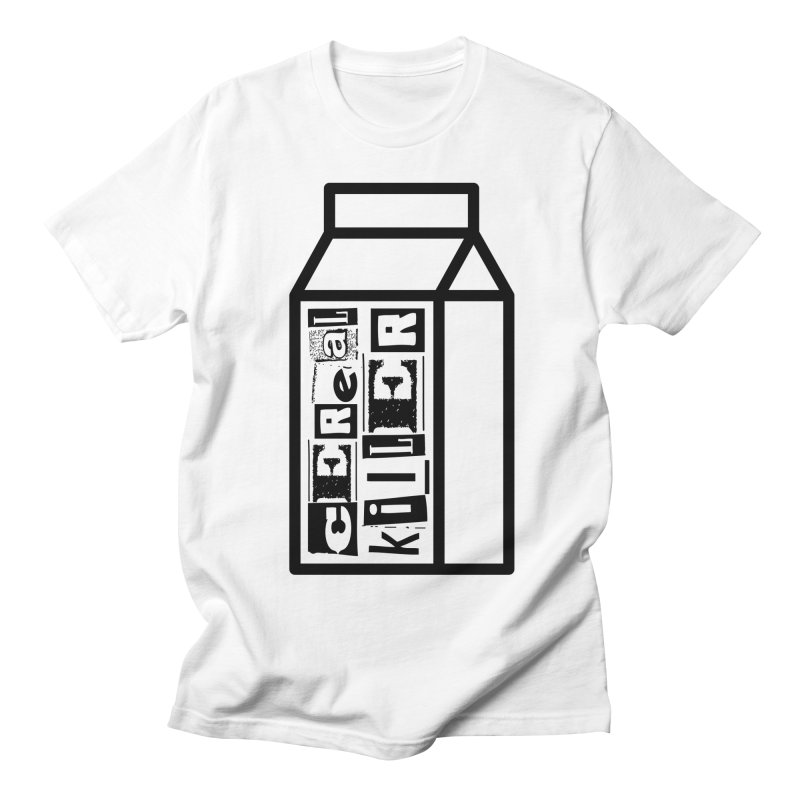 Cereal Killer Men's Regular T-Shirt by iconnico