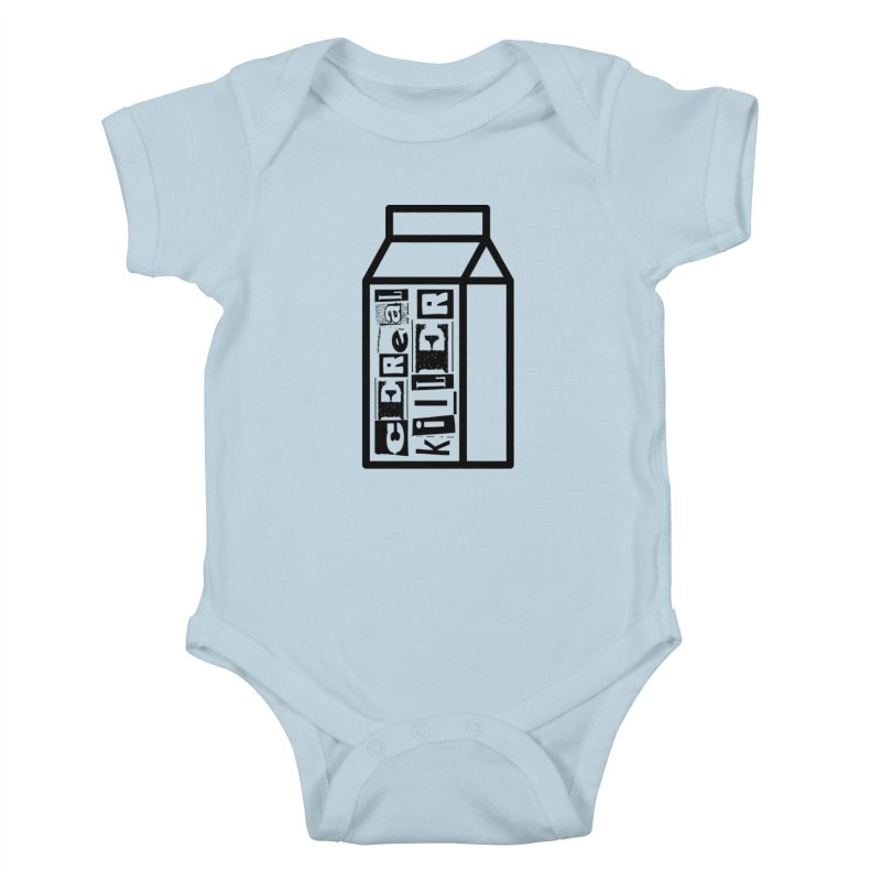 Cereal Killer Kids Baby Bodysuit by iconnico