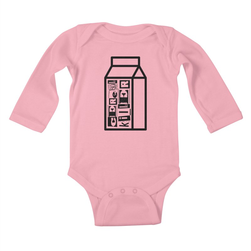 Cereal Killer Kids Baby Longsleeve Bodysuit by iconnico