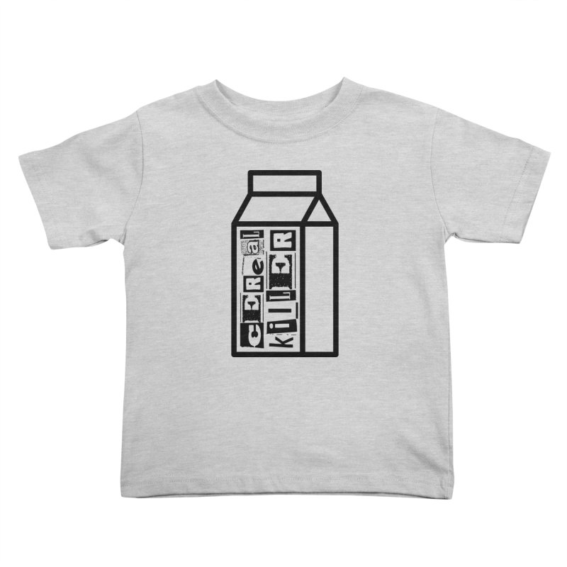 Cereal Killer Kids Toddler T-Shirt by iconnico