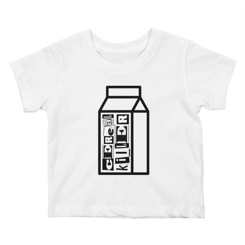 Cereal Killer Kids Baby T-Shirt by iconnico