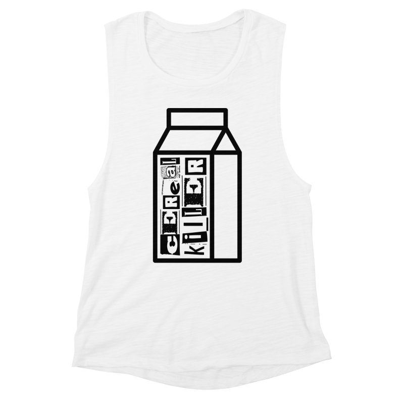 Cereal Killer Women's Muscle Tank by iconnico