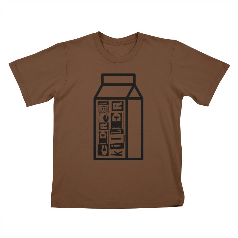 Cereal Killer Kids T-Shirt by iconnico